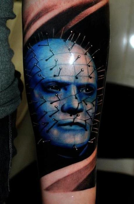 Tattoo-horror-mogwaii-Pinhead