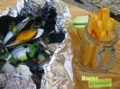 Moules Bouchot barbecue