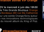 Nouvel album Xscape Michael Jackson soirée OrangeXperience