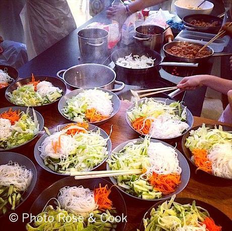 Atelier De Cuisine Vietnamienne à Lappartement Créatif Paris 20