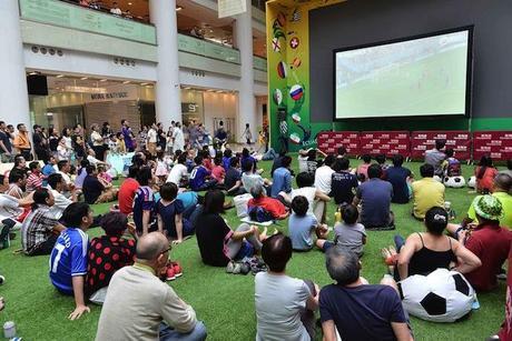 Les endroits les plus insolites pour regarder la coupe du Monde