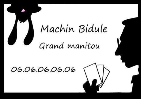 Carte De Visite Pour Un Collgue Magicien