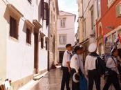 Zadar quelques heures comment Croatie coupe monde (voyage