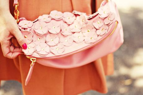 burberry the petal sac street style burberry the petal