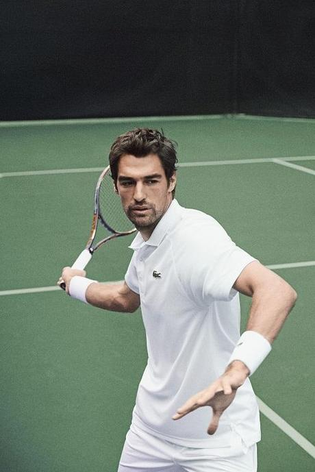 photo LACOSTE Jeremy Chardy Wimbledon 2014 1
