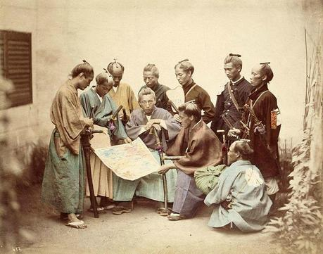 Satsuma-samurai-during-boshin-war