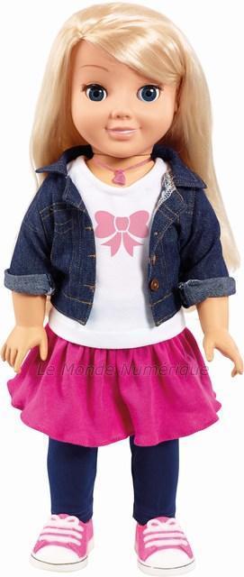 Cayla, pour jouer avec une poupée connectée