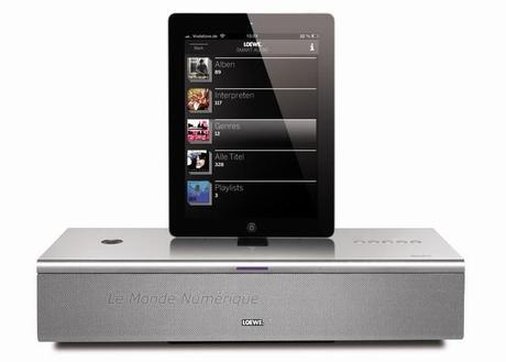 SoundPort Compact, station d'accueil audio Bluetooth par Loewe
