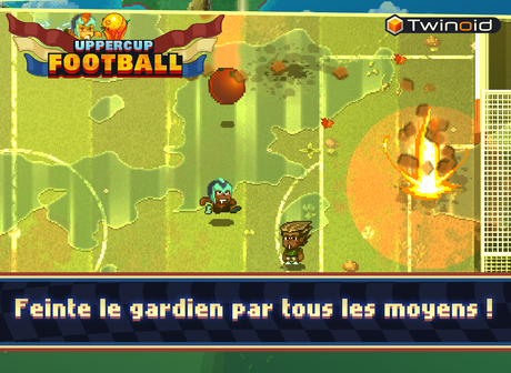 Uppercup Football sur mobiles et tablettes iOS et Android