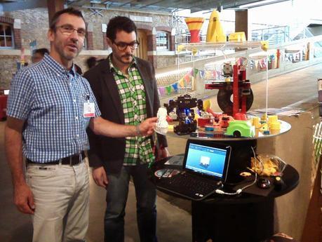 RQ HUNO et A4 Technologie en représentation à Maker Faire au 104