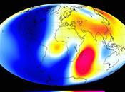 variations champ magnétique terrestre observées satellites Swarm