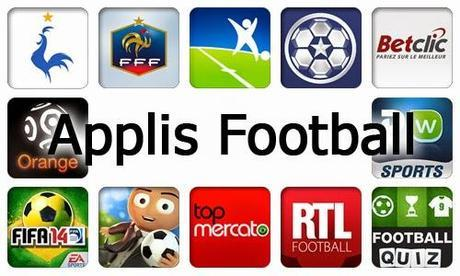 Applications Football pour Android et iOS