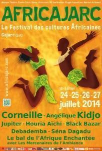 AfricaJarc, du 24 au 27 juillet 2014