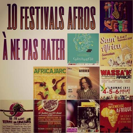 10 festivals Afros à ne pas rater