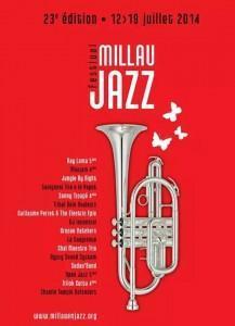Millau en Jazz, Programmation 2014