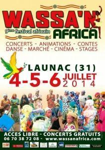 WASSA'N AFRICA, à LAUNAC
