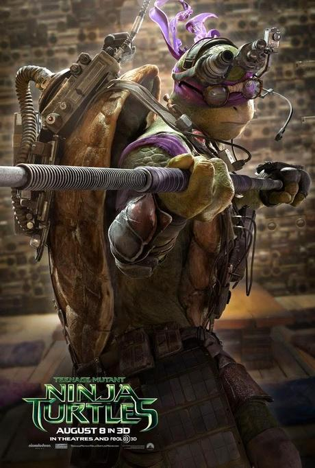 MOVIE | Teenage Mutant Ninja Turtles : Quatre nouvelles affiches et un trailer !