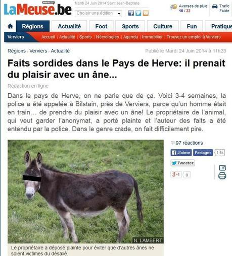 Filoutage 2 - L'âne