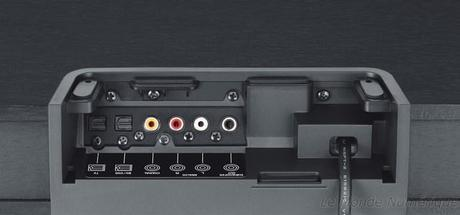 Yamaha dévoile une base son pour la TV, SRT-1000