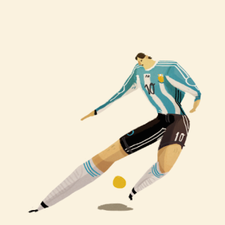 Art : World Cup Players