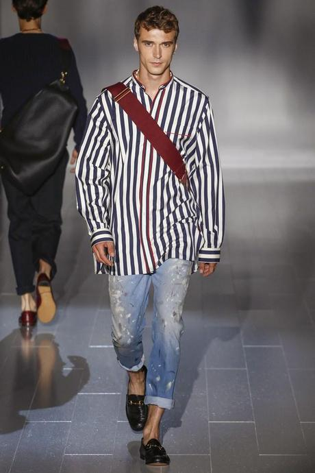 Le look so gooooood du jour : Le style boyish de Gucci...