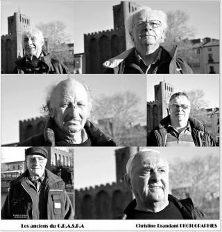 Coulisse du tournage pour les 50 ans de la découverte de l'Éphèbe d'Agde  Les protagonistes