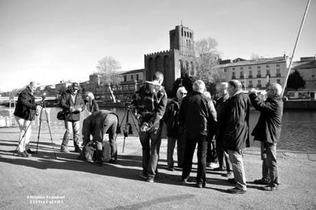 Coulisse du tournage pour les 50 ans de la découverte de l'Éphèbe d'Agde
