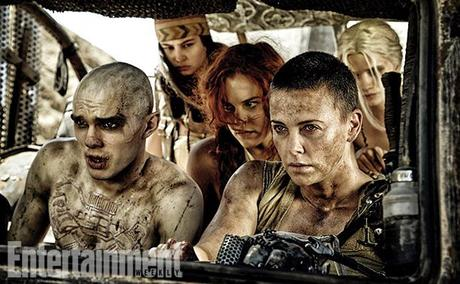 mad max fury road charlize theron nicholas hoult [News] Mad Max : Fury Road : des clichés ultra badass !