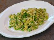 Taboulé boulgour légumes verts