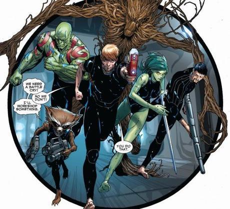 critique de comics : les gardiens de la galaxie tome 1
