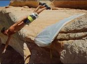 Slip Slide d'une falaise mètres (Devin Graham)