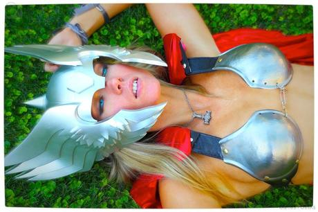Vamers Geekosphere Thorsday Toni Darling Gender Bends Thorsday Toni Darling as Thor 15 Cosplay   Lady Thor #25  thor Cosplay