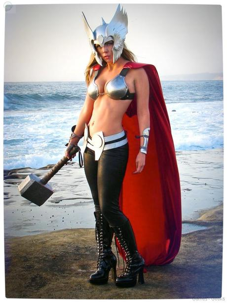 Vamers Geekosphere Thorsday Toni Darling Gender Bends Thorsday Toni Darling as Thor 06 Cosplay   Lady Thor #25  thor Cosplay