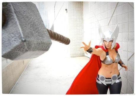 Vamers Geekosphere Thorsday Toni Darling Gender Bends Thorsday Toni Darling as Thor 05 Cosplay   Lady Thor #25  thor Cosplay
