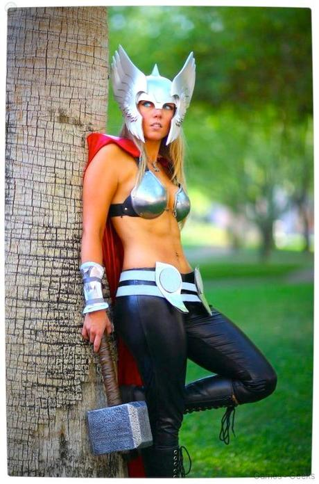 Vamers Geekosphere Thorsday Toni Darling Gender Bends Thorsday Toni Darling as Thor 08 Cosplay   Lady Thor #25  thor Cosplay