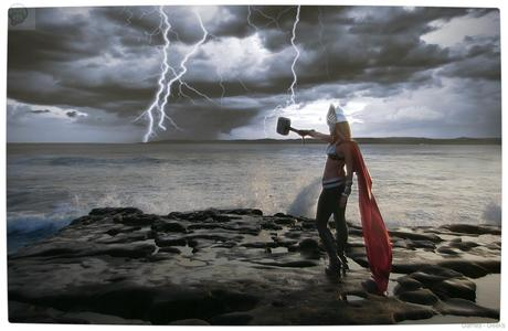 Vamers Geekosphere Thorsday Toni Darling Gender Bends Thorsday Toni Darling as Thor 10 Cosplay   Lady Thor #25  thor Cosplay
