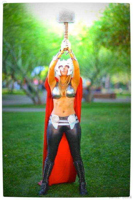 Vamers Geekosphere Thorsday Toni Darling Gender Bends Thorsday Toni Darling as Thor 01 Cosplay   Lady Thor #25  thor Cosplay