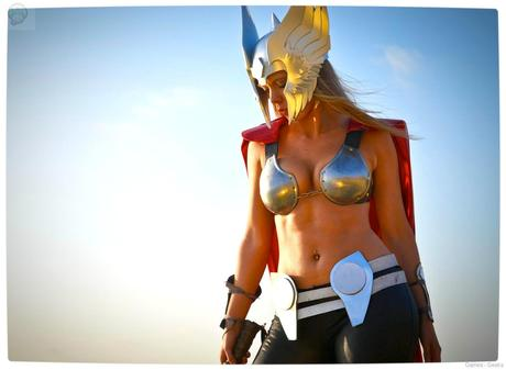 Vamers Geekosphere Thorsday Toni Darling Gender Bends Thorsday Toni Darling as Thor 04 Cosplay   Lady Thor #25  thor Cosplay