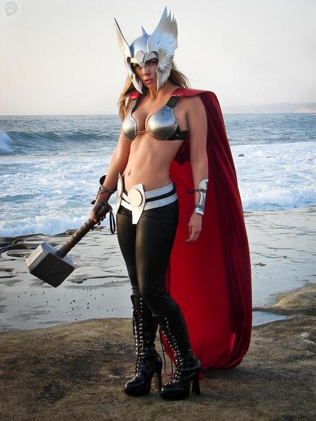 edited thor by toni darling d63lsf4 Cosplay   Lady Thor #25  thor Cosplay