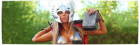 Vamers Geekosphere Thorsday Toni Darling Gender Bends Thorsday Banner Cosplay   Lady Thor #25  thor Cosplay