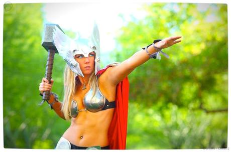 Vamers Geekosphere Thorsday Toni Darling Gender Bends Thorsday Toni Darling as Thor 09 Cosplay   Lady Thor #25  thor Cosplay