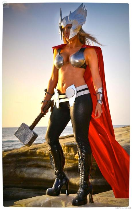 Vamers Geekosphere Thorsday Toni Darling Gender Bends Thorsday Toni Darling as Thor 13 Cosplay   Lady Thor #25  thor Cosplay