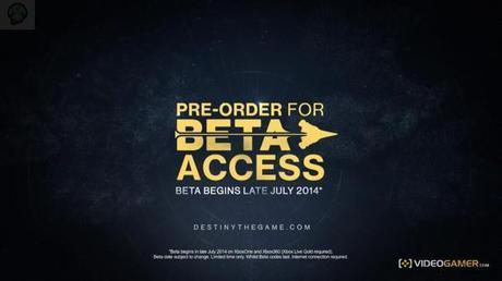 destiny beta La bêta Destiny aussi sur Xbox  Xbox One Destiny beta