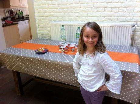 Goûter anniversaire 2014 buffet