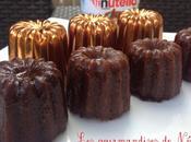 Cannelés nutella
