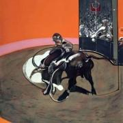 Francis Bacon Etude pour Corrida n°1, v. 1971 Lithographie sur papier 160 x 120,8 cm Museo de Bellas artes de Bilbao (Espagne) © The estate of Francis Bacon / All rights reserved / ADAGP, Paris 2014 © Bilboko Arte Ederren Museoa—Museo de Bellas Artes de Bilbao