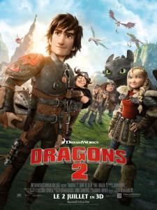 dragons-2-dreamworks-affiche