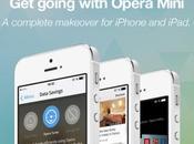Opera Mini arrive pour avec nouveau look