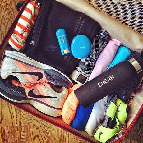 Bianca-Cheah-snapped-her-complete-running-suitcase