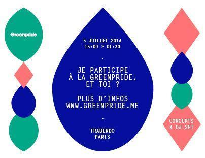 GREENPRIDE 3ème édition le 5 juillet 2014 : QUALITÉ de l'AIR  et PERTURBATEURS ENDOCRINIENS